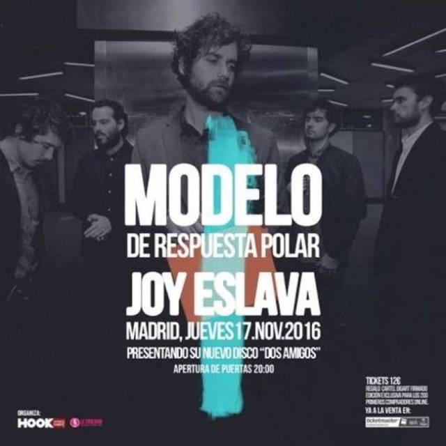 Modelo De Respuesta Polar comenzo su gira en Madrid con SOLD OUT
