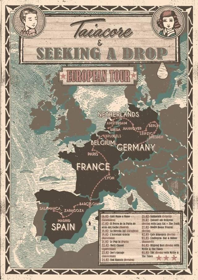 Gira de Taiacore por Europa