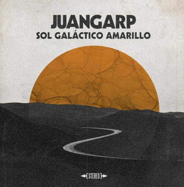 ¨Sol Galáctico Amarillo¨es el primer disco de Juan Garp