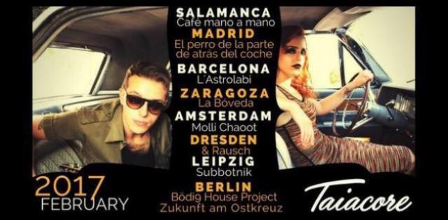 Taiacore anuncia nuevas fechas