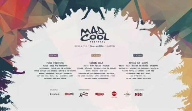Cartel completo del Mad Cool