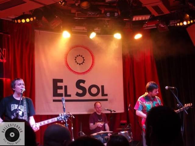 The Wave Picture en su concierto en la Sala El Sol de Madrid