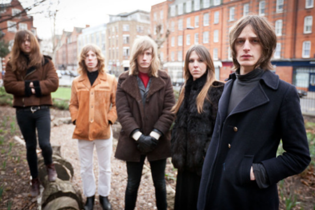 La banda británica Toy presentan su nuevo trabajo
