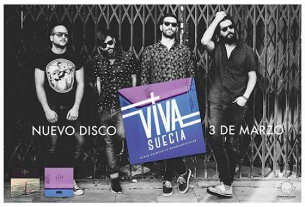 Viva Suecia estarán el sábado en el FNAC de Murcia