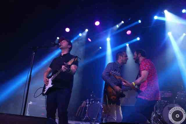 Luis Brea en su actuación en la fiesta del Sonorama