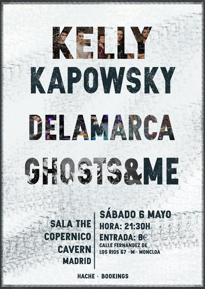 Kelly Kapowsky en Madrid