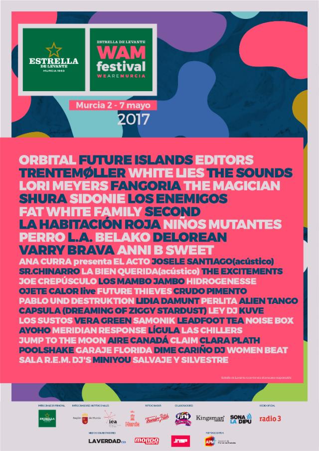 Nuevas confirmaciones en el Festival WAM