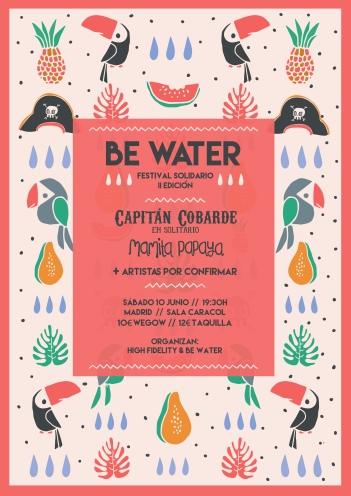 II Edición del Festival Solidario Be Water