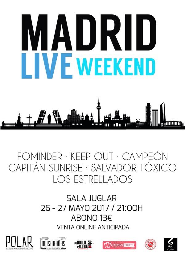 Madrid Live Weekend