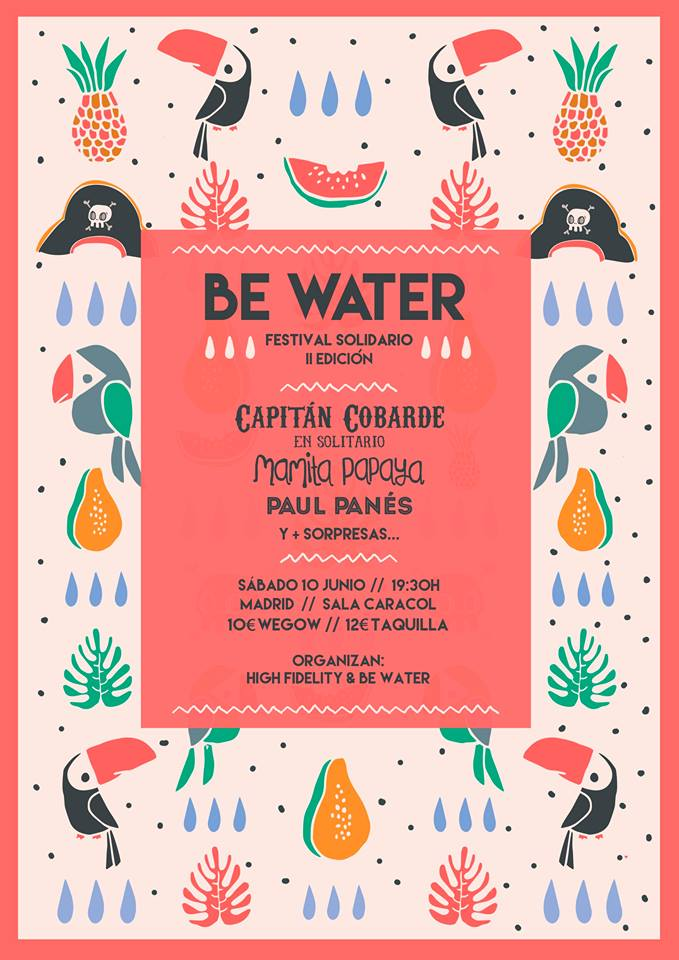 Paul Panes se une al Festival solidario Be Water