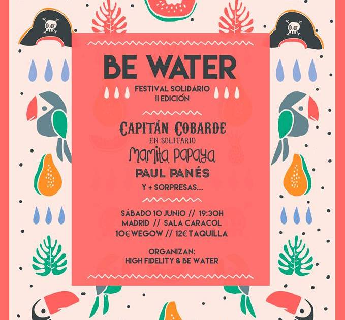 Paul Panes se une al Festival solidario Be Water