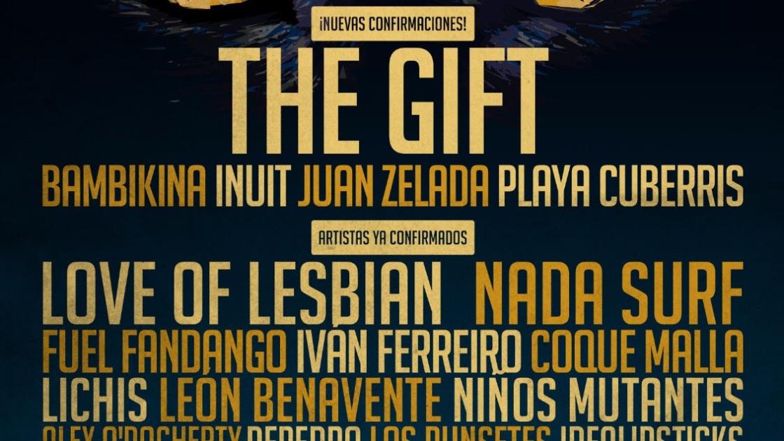 Festival Gigante cierra su cartel