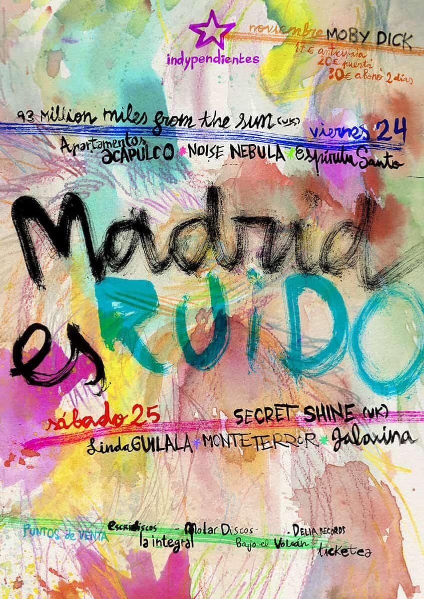 SHOEGAZE Madrid_es_ruido_fest_2017