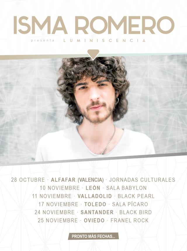 Isma Romero presenta ¨Carlota¨el single de lo que será su nuevo disco.
