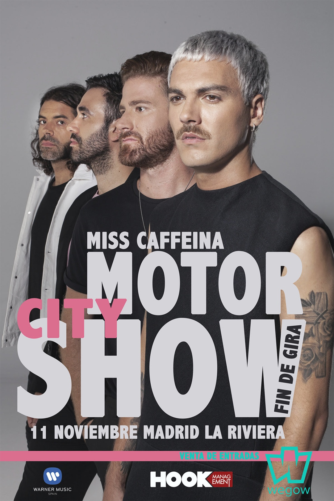 Miss Caffeina despide ¨Detroit¨