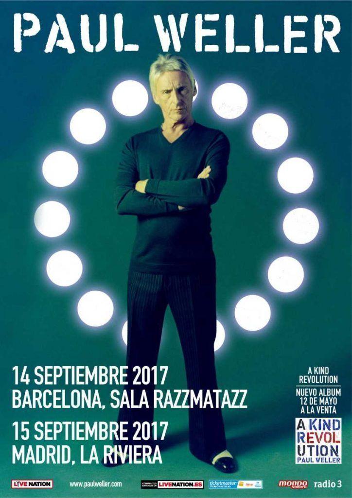 Paul Weller en España
