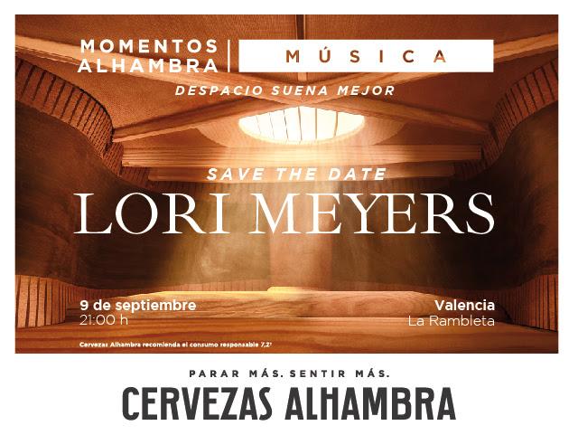 Lori Meyers actuaran en Valencia