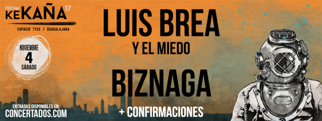Luis Brea Y El Miedo y Biznaga son las primeras confirmaciones del Festival Ke Caña