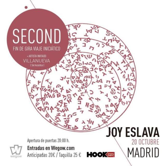 Second cierra su ¨Viaje Iniciático¨ en Madrid antes de ir a Murcia
