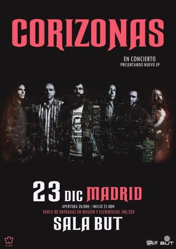 Corizonas llega a Madrid.