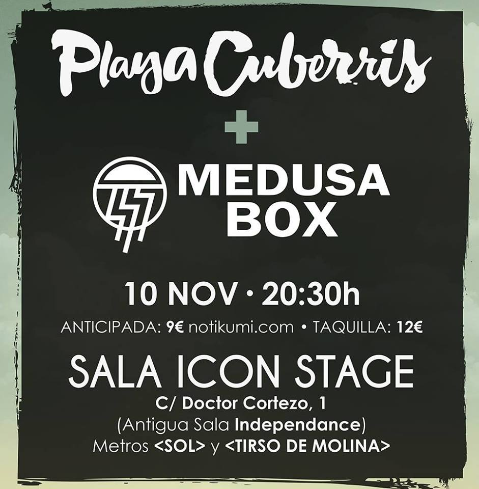 Playa Cuberris en Icon Stage
