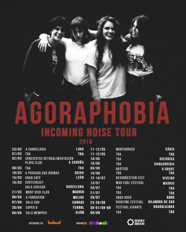 Fechas del Incoming Noise Tour de Agoraphobia