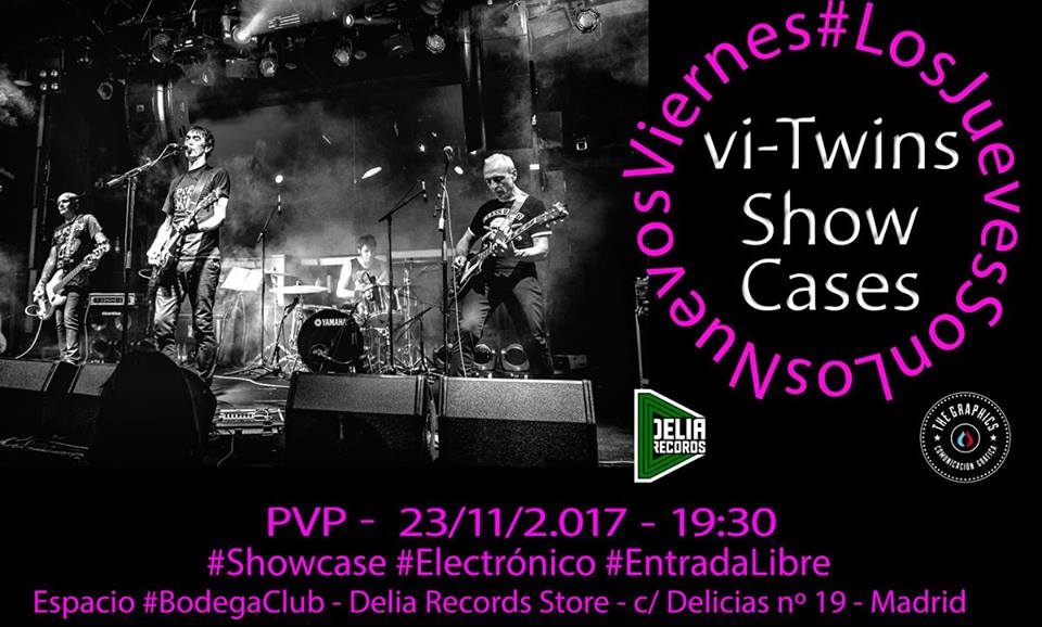 PVP estarán en Delia Records dentro de los showcases de Vi Twins
