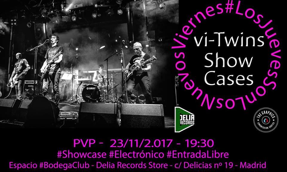 PVP estarán en Delia Records dentro de los showcases de Vi Twins