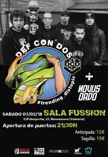 Def Con Dos llegan a Valencia