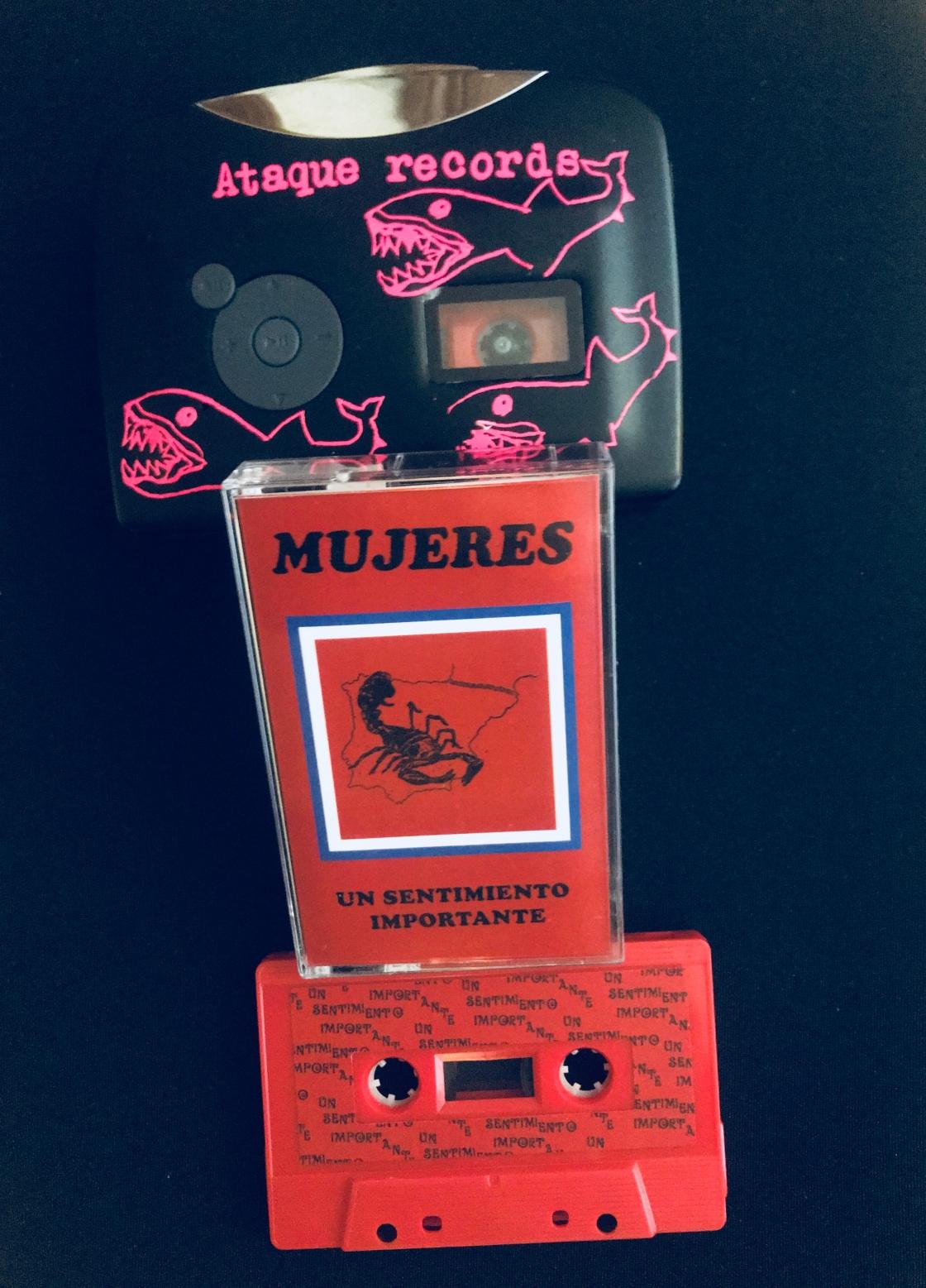 El nuevo disco de Mujeres en Cassete.
