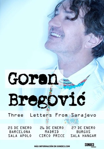 Goran Bregovic visita España