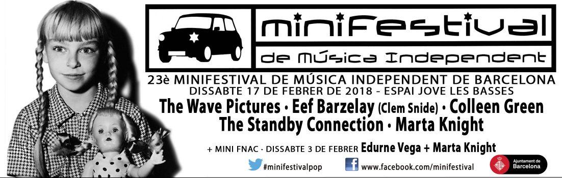 Minifestival de Música Independiente 2018.