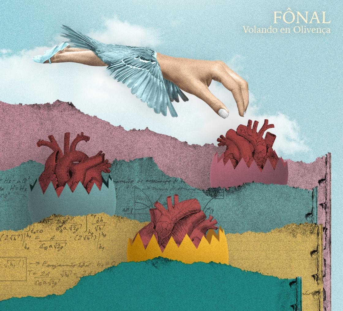 Fônal presenta su EP ¨Volando en Olivença¨ Artwork: Paco Macgregor