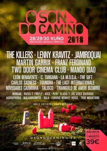 O son do Camiño, nace un nuevo festival en Santiago de Compostela.