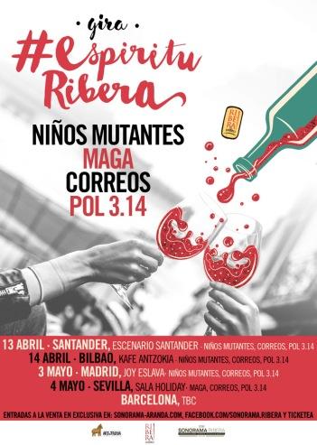 Gira Espíritu Ribera 2018