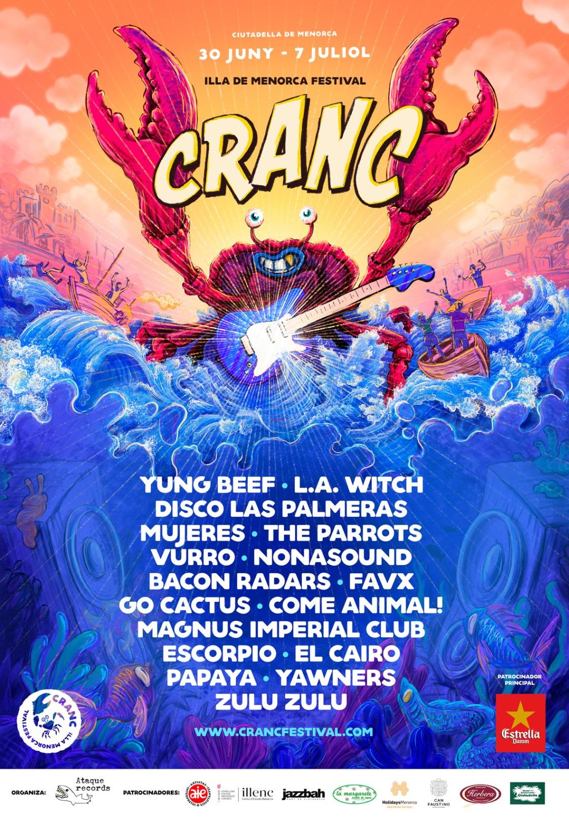 ¿Te vas a perder la segunda edición del Cranc Festival?