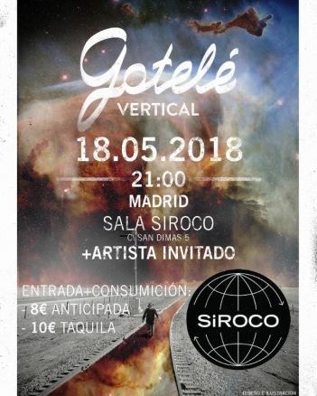 Gotelé presenta su disco en Madrid