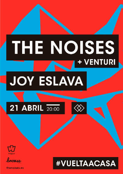 The Noises vuelven a Madrid