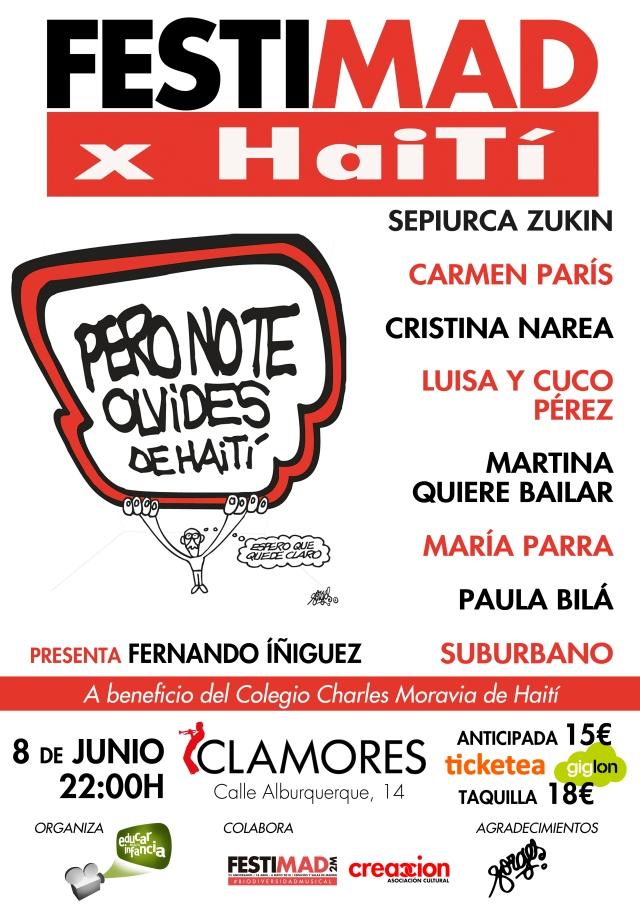 Festimad X Haití 2018 Cartel