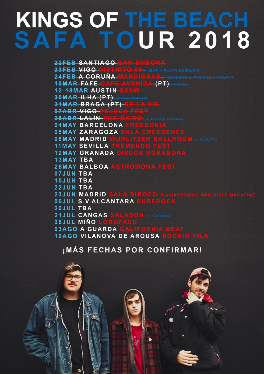 Kings Of The Beach y su gira 2018