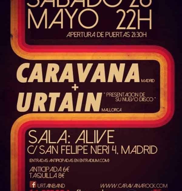 Caravana y Urtaín en Madrid