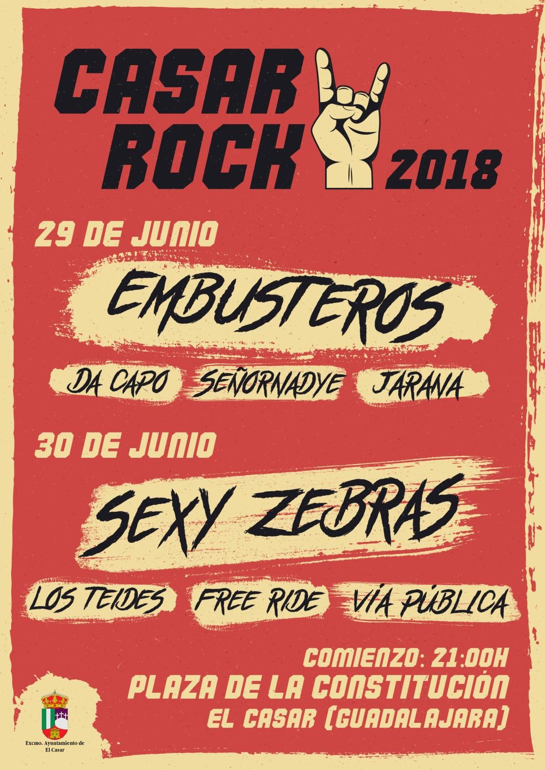 Llega una nueva edición del Casar Rock