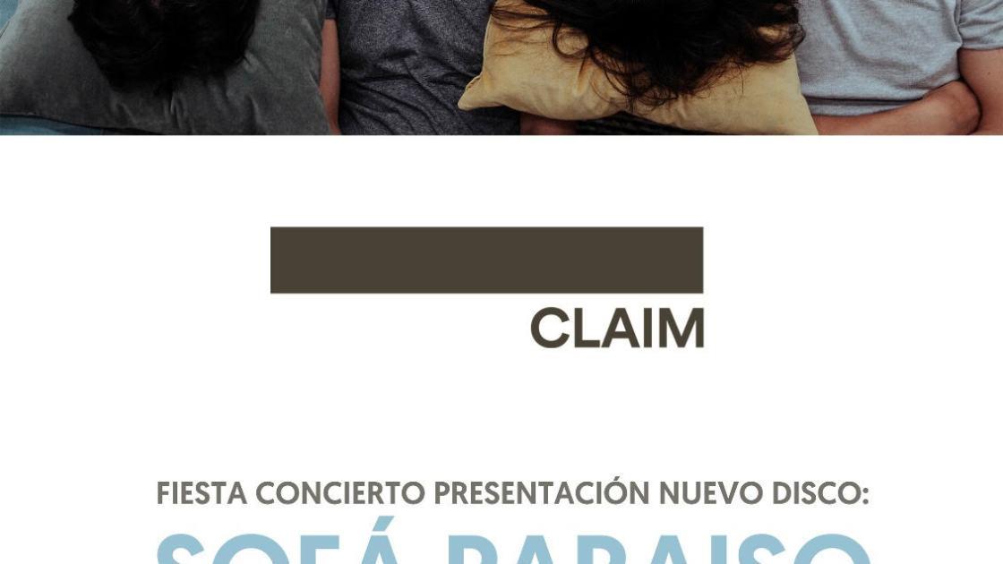 Claim presenta en Madrid su nuevo disco.