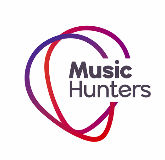 Logo MusicHunters blanco