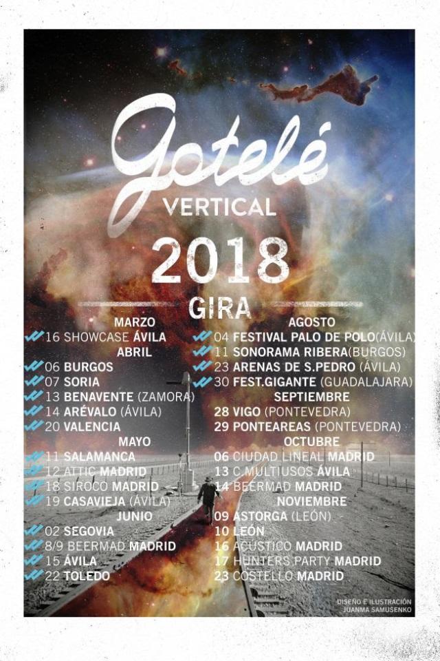Gotelé y Denea añaden nuevas fechas a sus giras