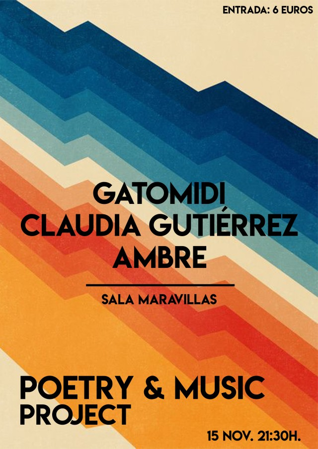 CARTEL TERCERA EDICION POETRY
