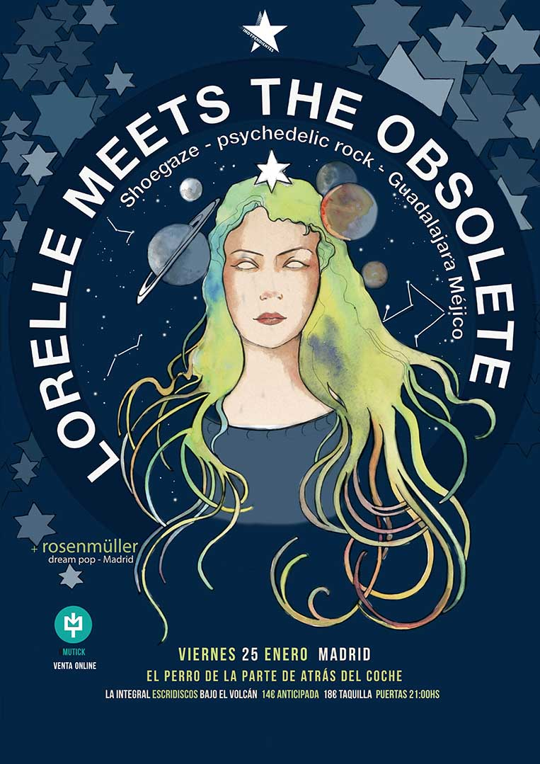 Lorelle Meets the Obsolete llegan a Madrid