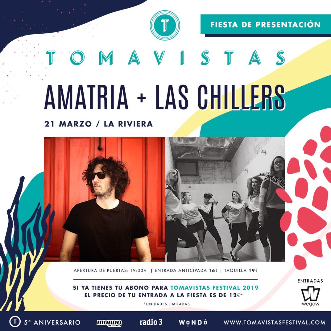 Fiesta presentación Tomavistas 2019.